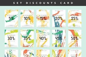 Set Discounts price tag