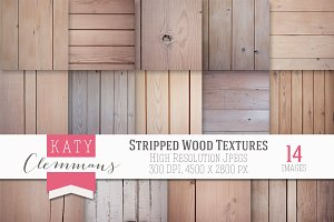 Stripped Wood photographic textures