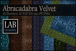 40 Sparkle Velvet Fabric Textures