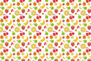 Fruit Food Pattern