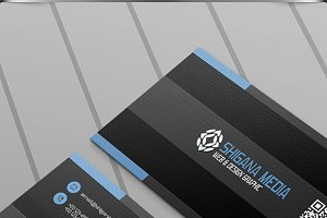 Simple Clean Corporate Business Card