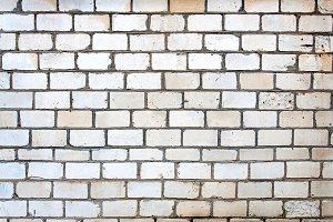 Wall Of White Brick