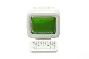 Retro PC 3D Icon