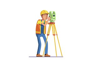 Land survey and civil engineer