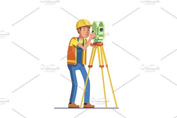Land survey and civil engineer