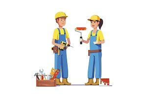 Painter and carpenter craftsman