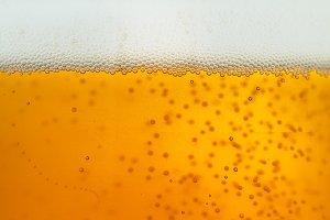 macro beer photo