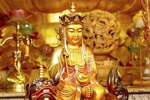Chinese Temple Buddha