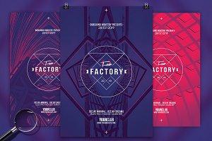 Fear Factory | 3in1 Flyer Template