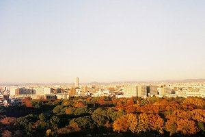 Landscape of city view in Japan