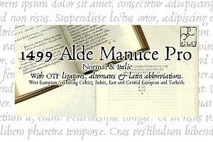 1499 Alde Manuce PRO OTF