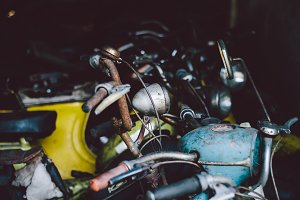 Old motorbikes and mopeds #5