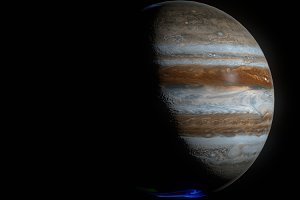 Hyperrealistic 4k Jupiter