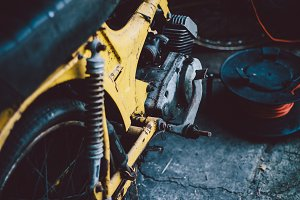 Old motorbikes and mopeds #6