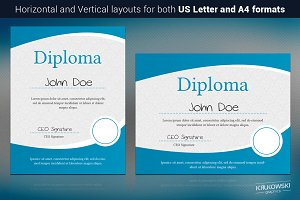 Normal Diploma Template