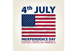4 th july Independence Day USA.