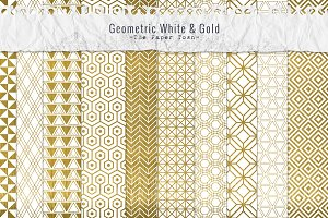 Gold Pattern Seamless Digital Papers
