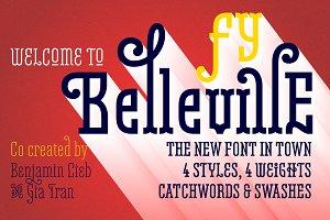Belleville 19H FY Family-4 Fonts