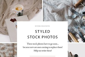 90% OFF SALE! Styled Stock photos