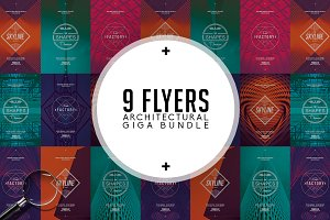 Architectural Bundle | 9 Flyers