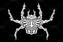 stylized spider. Animals.