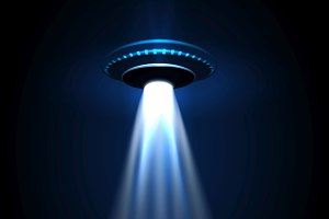 UFO alien lights
