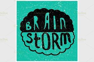 Brain Storm text