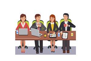 Small collaboration team