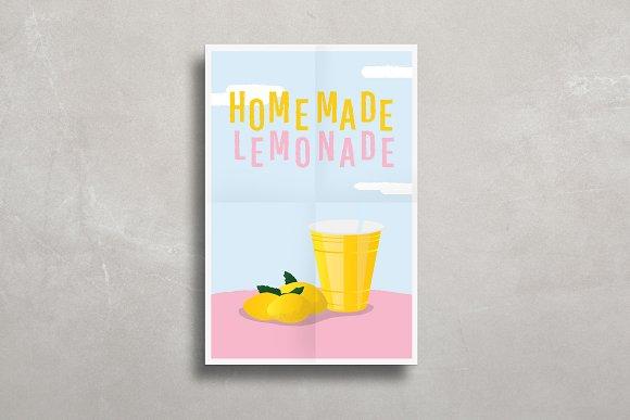 simple poster mock up product mockups creative market