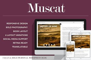 Muscat - Clean & Bold WordPress Blog