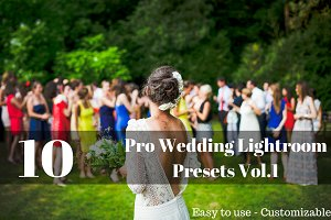 10 Pro Wedding Lightroom Presets