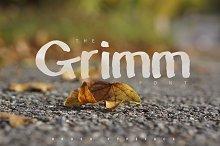 The Grimm Brush Typeface