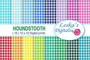 Houndstooth Pattern - Digital Paper