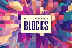 Exploding Blocks