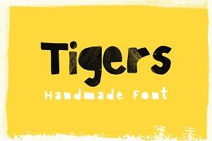 Tigers — Block Font