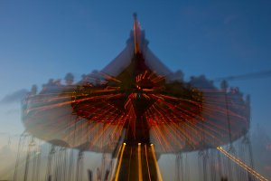 Swing Ride and Creative Blur