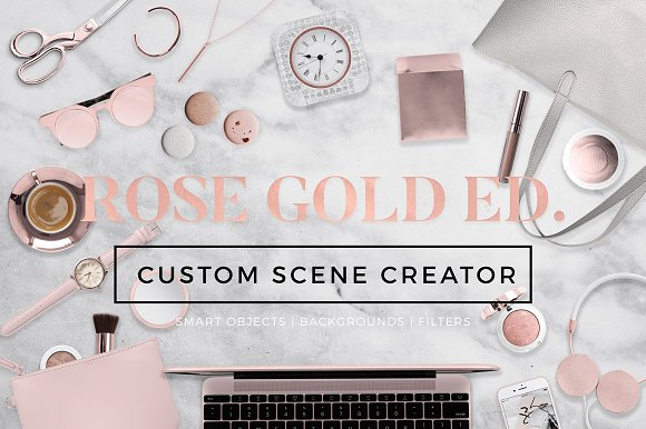 Free Custom Scene Creator-Rose Gold Ed.