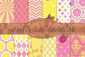 Pink Lemonade patterns