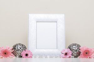 Photo Frame Styled Stock