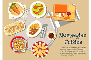 Norwegian cuisine dishes