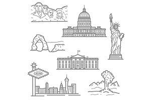 National landmarks of USA