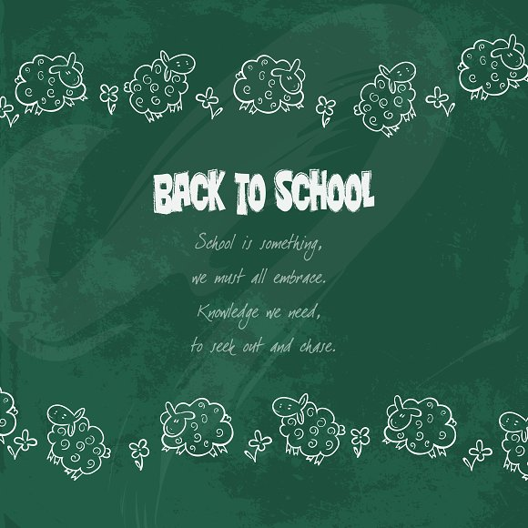 school illustration set in Illustrations - product preview 2