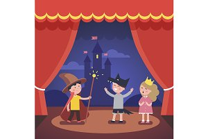 Kids theater performance show