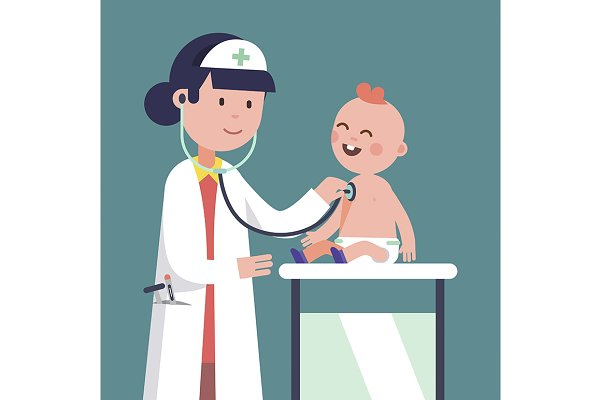 Pediatrician doctor woman