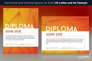 Simple Diploma Template