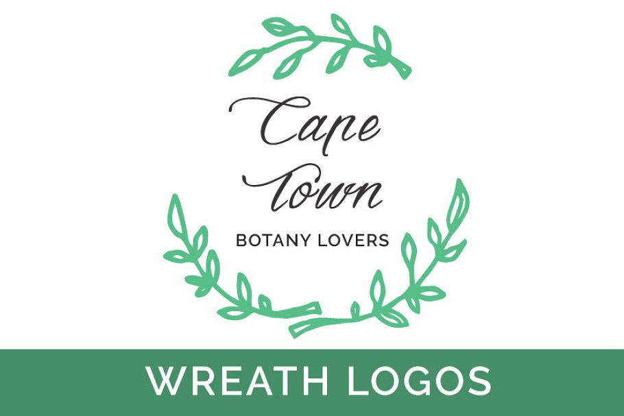 Wreath Vector Logos