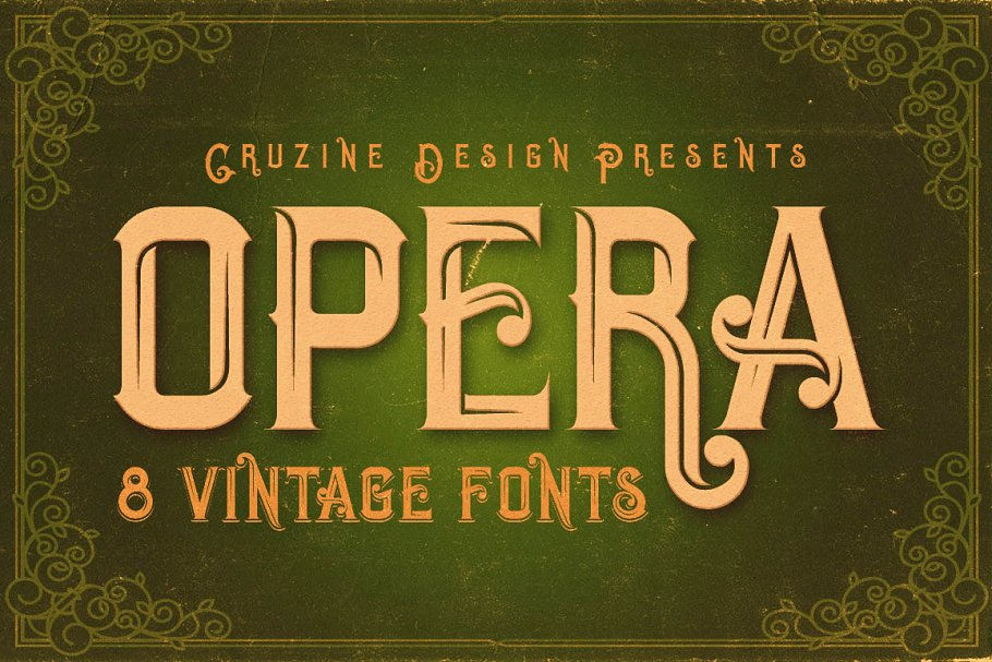 La Forest Typeface ~ Blackletter Fonts ~ Creative Market