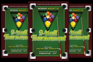 Pool Tournament 9-Ball
