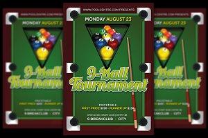 Pool Tournament 9-Ball