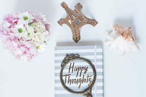 Happy Thoughts Desk Styled